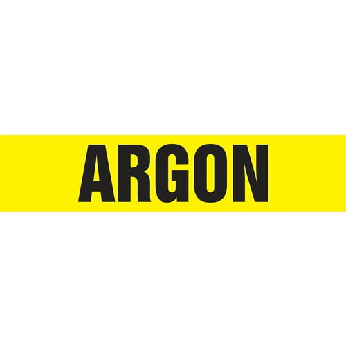Argon Pipe Marker - ASME/ANSI (013692)