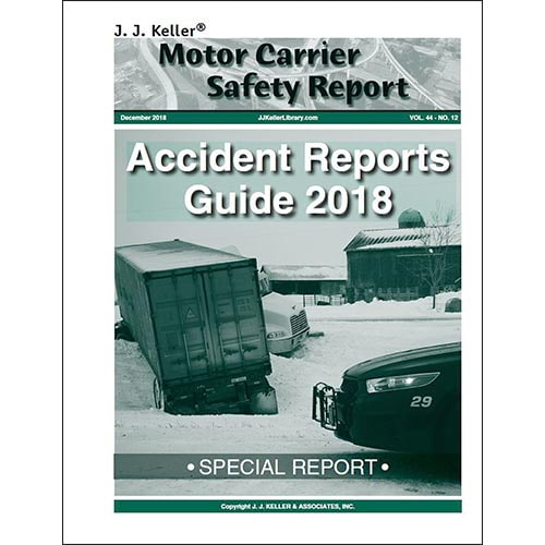 Special Report - Accident Reports Guide 2018 (08923)