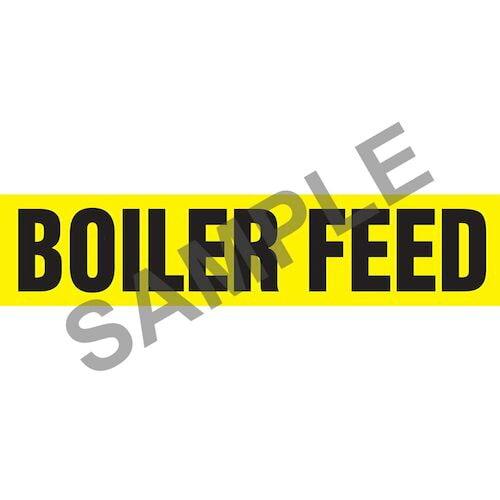 Boiler Feed Pipe Marker - ASME/ANSI (013700)