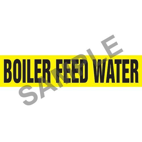 Boiler Feed Water Pipe Marker - ASME/ANSI (013950)