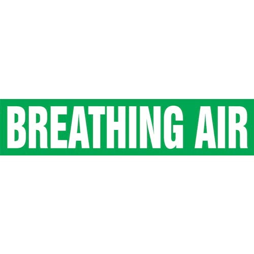 Breathing Air Pipe Marker - ASME/ANSI (013701)
