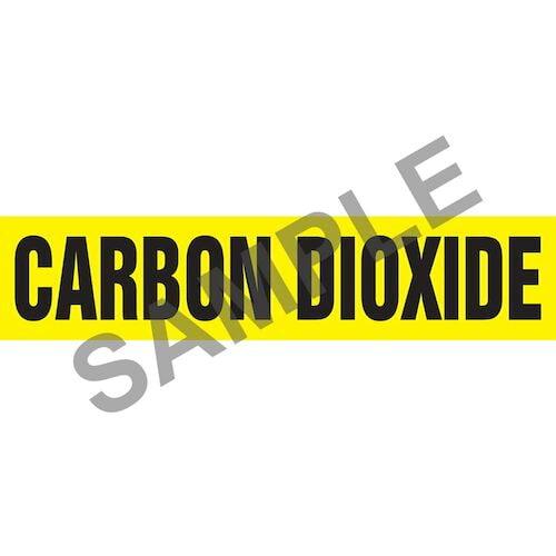 Carbon Dioxide Pipe Marker - ASME/ANSI (013703)