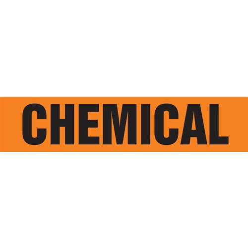 Chemical Pipe Marker - ASME/ANSI (013706)