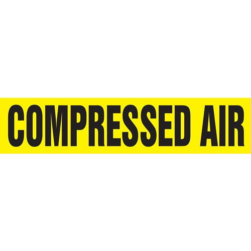 Compressed Air Pipe Marker - ASME/ANSI (013720)