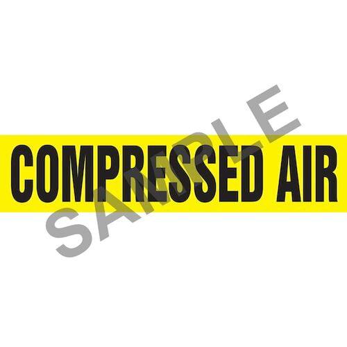 Compressed Air Pipe Marker - ASME/ANSI (013720)