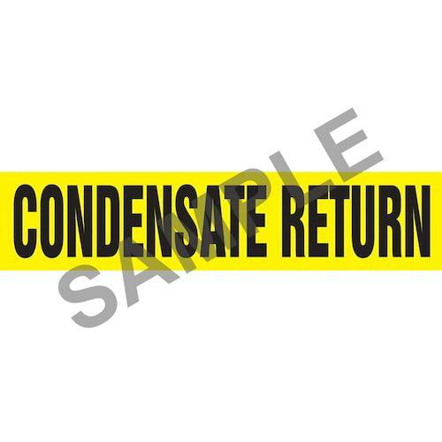 Condensate Return Pipe Marker - ASME/ANSI (013724)