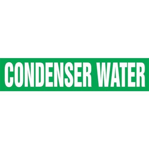 Condenser Water Pipe Marker - ASME/ANSI (013726)
