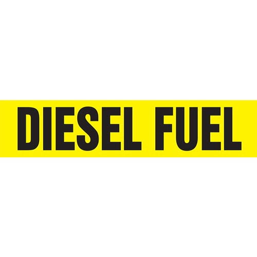 Diesel Fuel Pipe Marker - ASME/ANSI (013734)