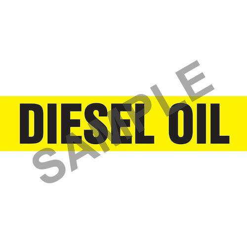 Diesel Oil Pipe Marker - ASME/ANSI (013735)