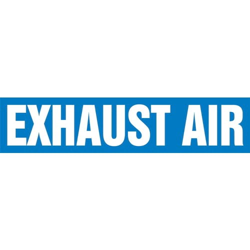Exhaust Air Pipe Marker - ASME/ANSI (013754)