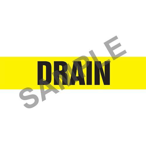 Drain Pipe Marker - ASME/ANSI (013747)