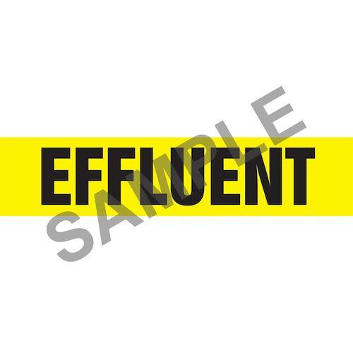 Effluent Pipe Marker - ASME/ANSI (013750)
