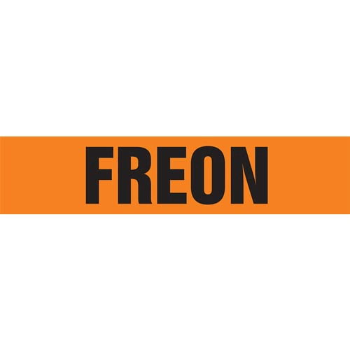 Freon Pipe Marker - ASME/ANSI (013761)