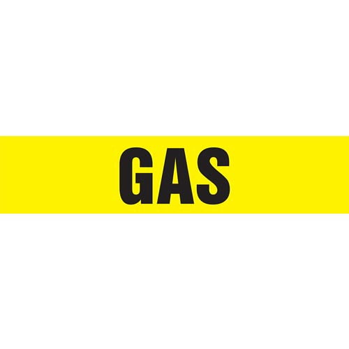 Gas Pipe Marker - ASME/ANSI (013768)