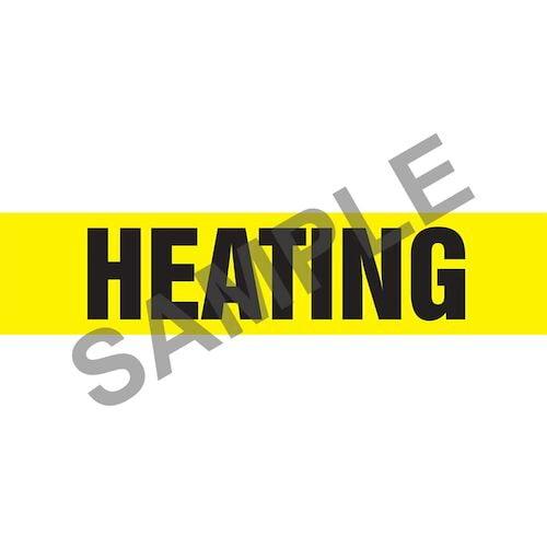 Heating Pipe Marker - ASME/ANSI (013773)