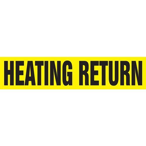 Heating Return Pipe Marker - ASME/ANSI (013776)