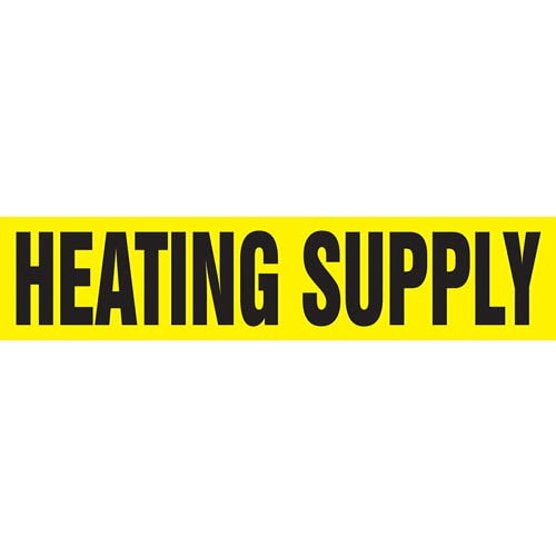 Heating Supply Pipe Marker - ASME/ANSI (013777)