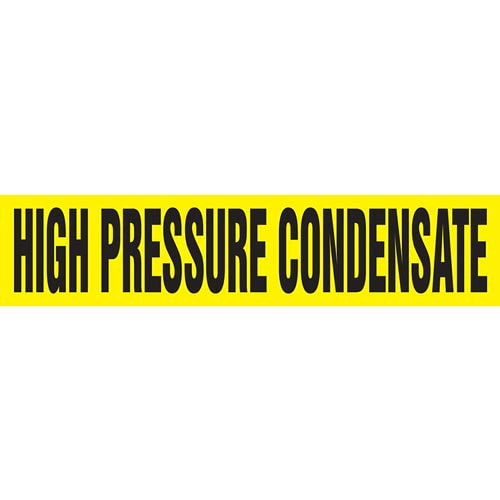 High Pressure Condensate Pipe Marker - ASME/ANSI (013781)