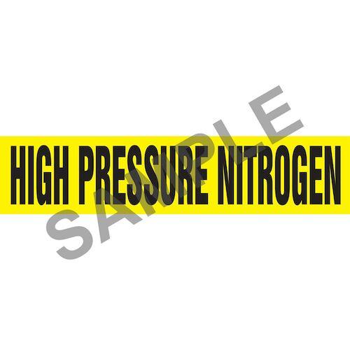 High Pressure Nitrogen Pipe Marker - ASME/ANSI (013784)