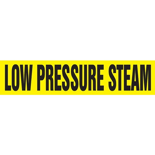 Low Pressure Steam Pipe Marker - ASME/ANSI (013813)