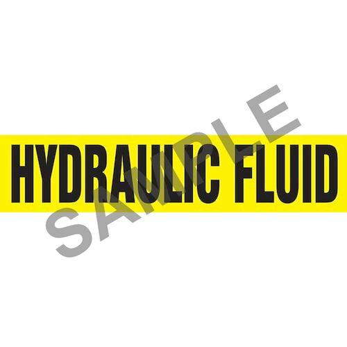 Hydraulic Fluid Pipe Marker - ASME/ANSI (013792)