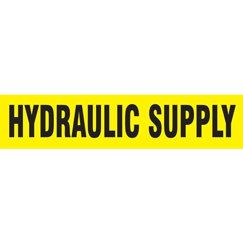 Hydraulic Supply Pipe Marker - ASME/ANSI (013795)