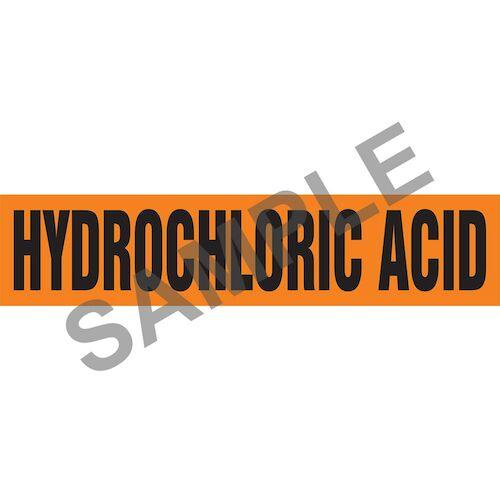 Hydraulic Acid Pipe Marker - ASME/ANSI (013796)
