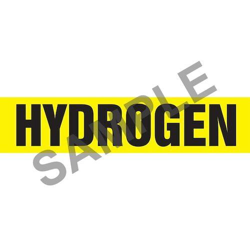 Hydrogen Pipe Marker - ASME/ANSI (013797)