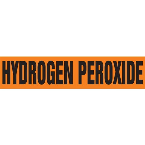 Hydrogen Peroxide Pipe Marker - ASME/ANSI (013798)