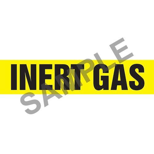 Inert Gas Pipe Marker - ASME/ANSI (013800)