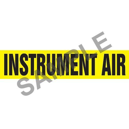 Instrument Air Pipe Marker - ASME/ANSI (013801)