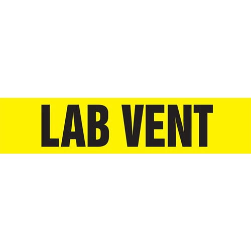 Lab Vent Pipe Marker - ASME/ANSI (013804)