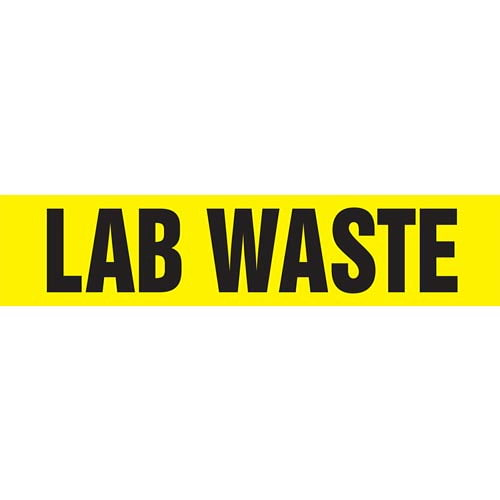 Lab Waste Pipe Marker - ASME/ANSI (013805)