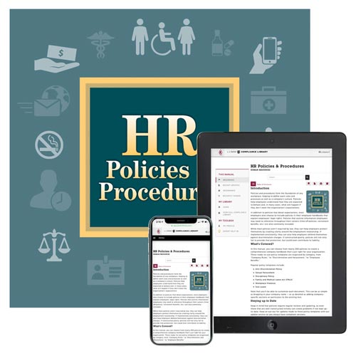 HR Policies & Procedures Manual (013944)