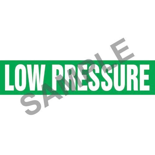Low Pressure Pipe Marker - ASME/ANSI (013807)