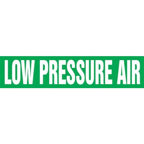 Low Pressure Air Pipe Marker - ASME/ANSI (013808)
