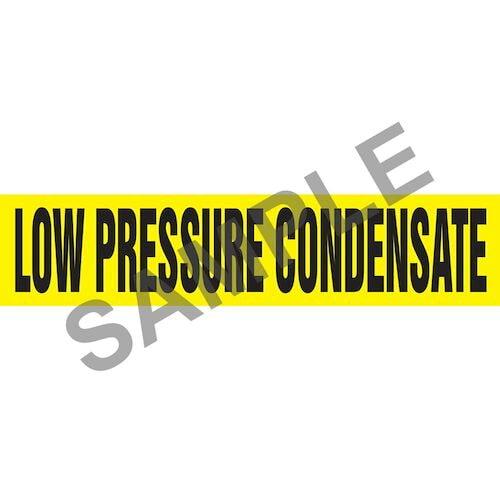 Low Pressure Condensate Pipe Marker - ASME/ANSI (013809)