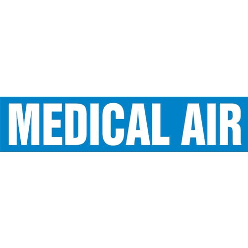 Medical Air Pipe Marker - ASME/ANSI (013817)