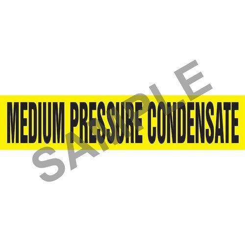 Medium Pressure Condensate Pipe Marker - ASME/ANSI (013819)