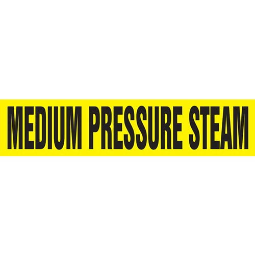Medium Pressure Steam Pipe Marker - ASME/ANSI (013820)