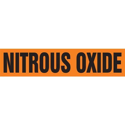 Nitrous Oxide Pipe Marker - ASME/ANSI (013827)