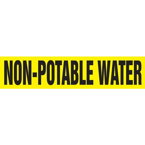 Non-Potable Water Pipe Marker - ASME/ANSI (013828)