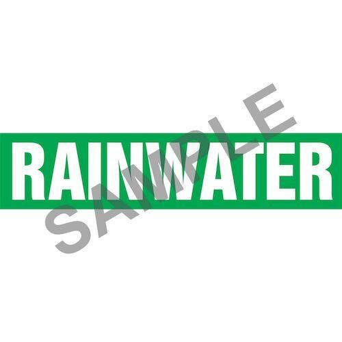 Rain Water Pipe Marker - ASME/ANSI (013849)