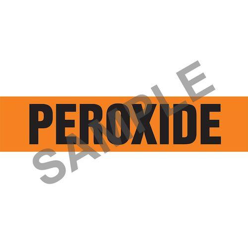 Peroxide Pipe Marker - ASME/ANSI (013834)