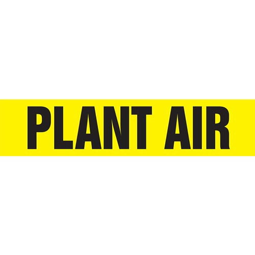Plant Air Pipe Marker - ASME/ANSI (013835)