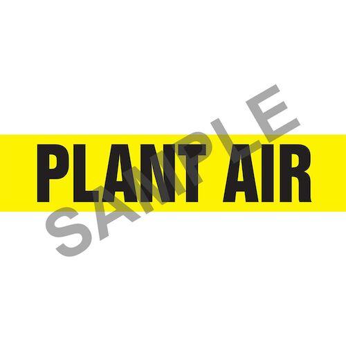Plant Air Pipe Marker - ASME/ANSI (013835)