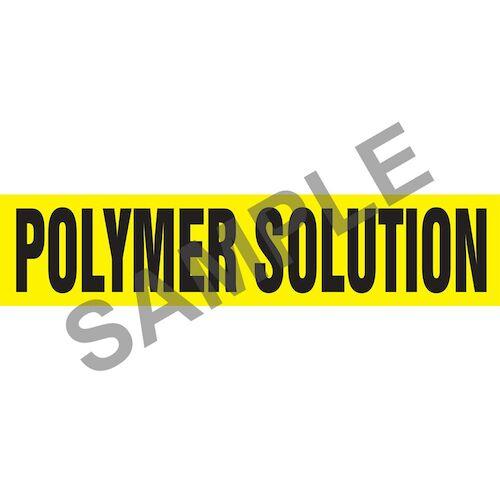 Polymer Solution Pipe Marker - ASME/ANSI (013839)