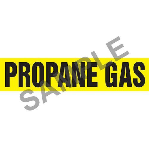 Propane Gas Pipe Marker - ASME/ANSI (013845)