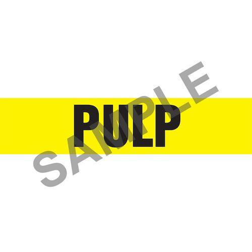 Pulp Pipe Marker - ASME/ANSI (013846)