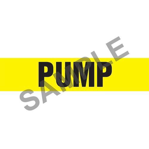 Pump Pipe Marker - ASME/ANSI (013847)
